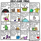Self-Care Ideas by Introvert Doodles