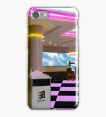 Vaporwave Plaza iPhone Case/Skin