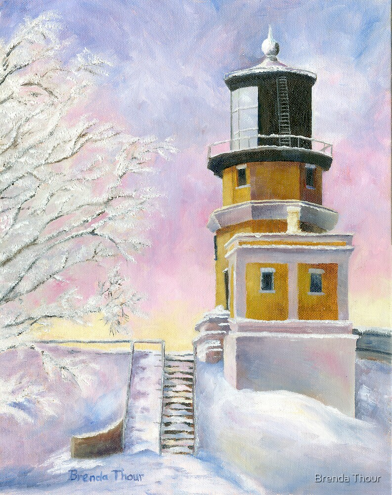 January's Light by Brenda Thour
