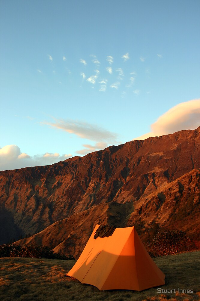 sunrise mountain by Stuart Innes