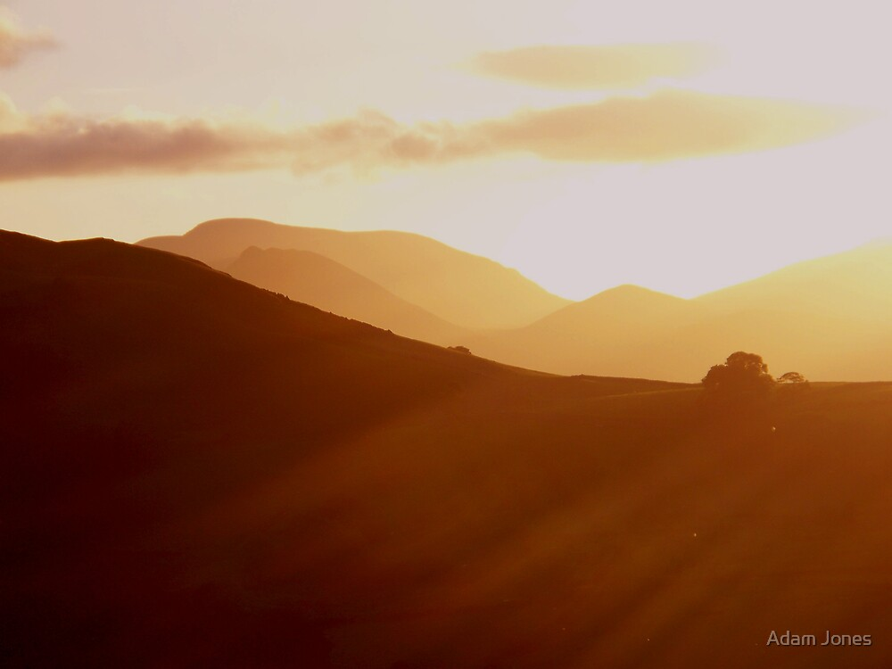 View From Threlkeld Church by Adam Jones