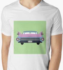classic 1950s car Mens V-Neck T-Shirt