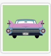classic 1950s car Sticker