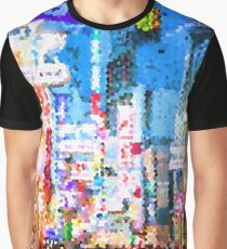 Fractal Scapes - Tokyo Graphic T-Shirt