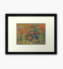 Poppies 1888  Framed Print