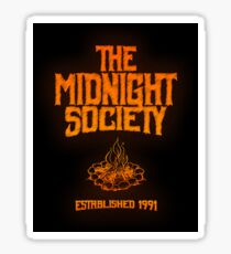 Are You Afraid of the Dark Sticker - The Midnight Society - Established 1991 - Classic Nickelodeon Sticker