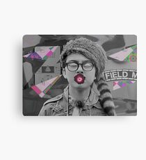 Sam kiss the flower Metal Print