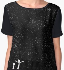 Rick and Morty - Star Viewing Women's Chiffon Top