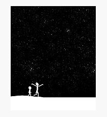 Rick and Morty - Star Viewing Photographic Print