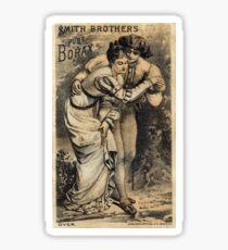 SMITH BROTHERS PURE BORAX Sticker