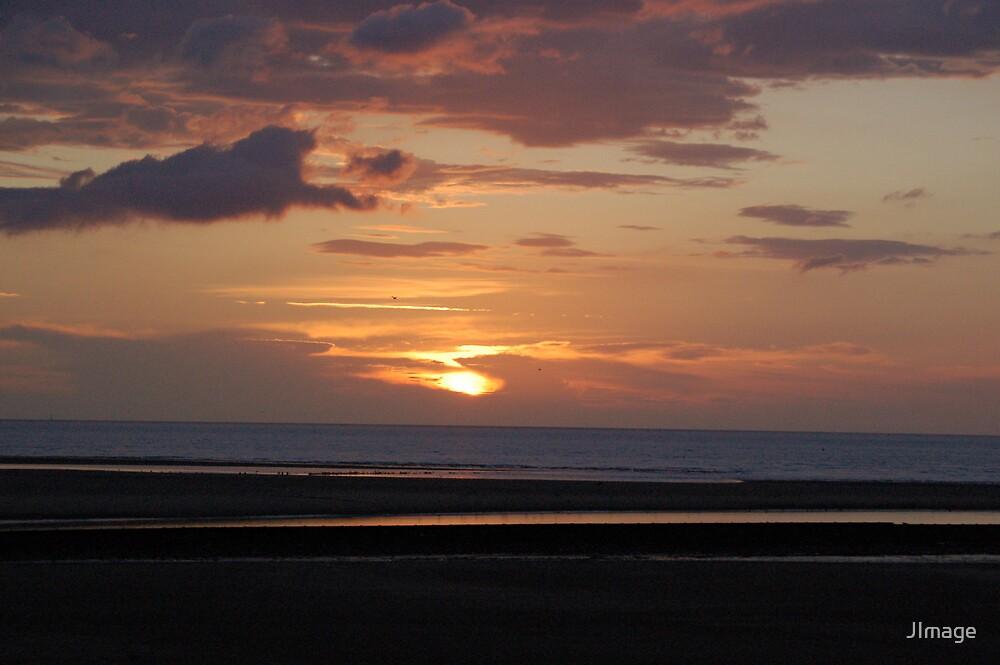 Sunset @ Rhyl Beach 2 by JImage