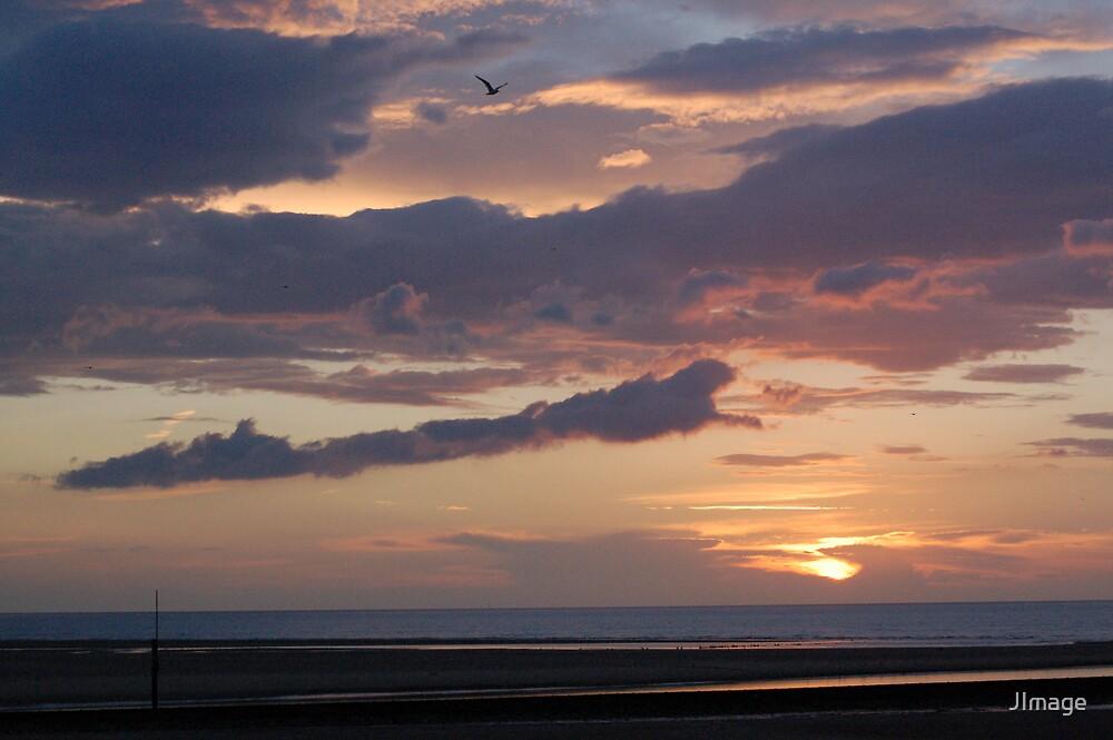Sunset @ Rhyl Beach 3 by JImage