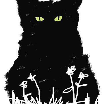 Night kitty by picklejarnz