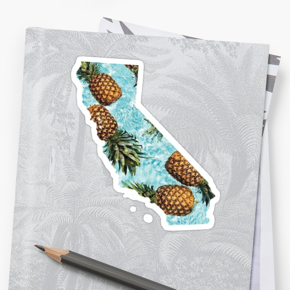 California Pineapples by divinefemme