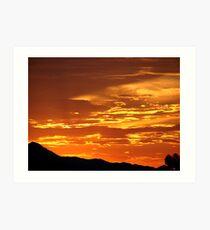 Arizona Sunset 5 Art Print
