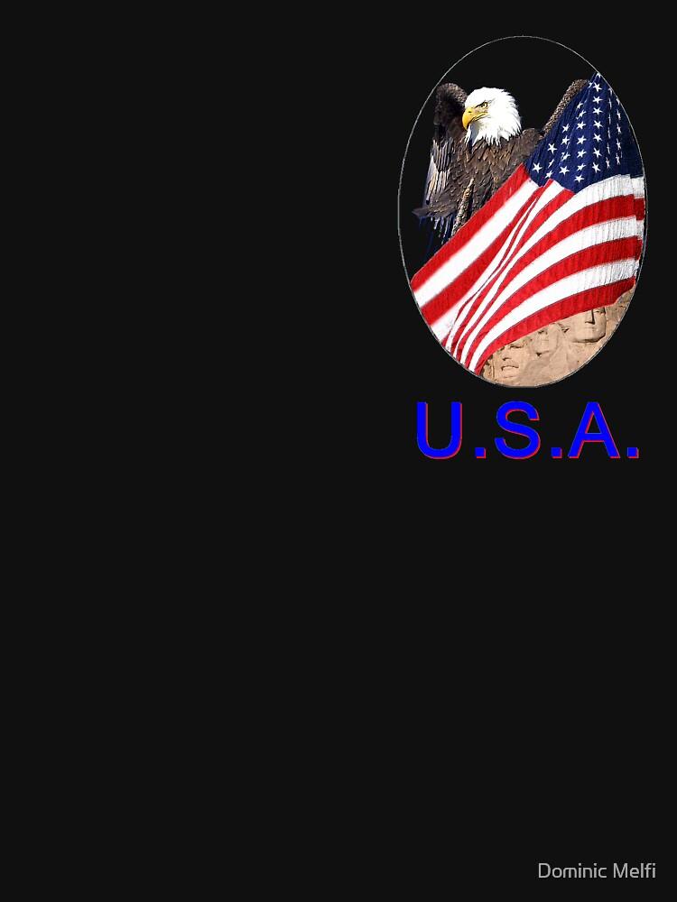 TSHIRT USA EMBLEM by dmelfi