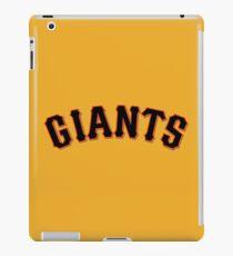 giants iPad Case/Skin