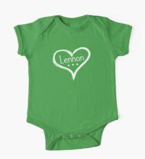 LENNON - Heart . . . I love you One Piece - Short Sleeve