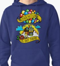 Adventure is Out There! Pullover Hoodie