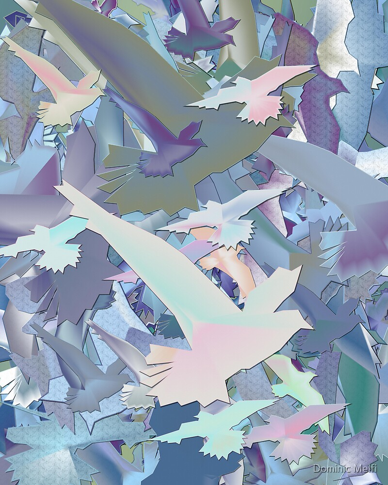WALL ART BIRDS by Dominic Melfi
