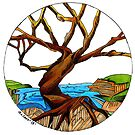 """River Tree"" by Winterberry  Farm Studio"