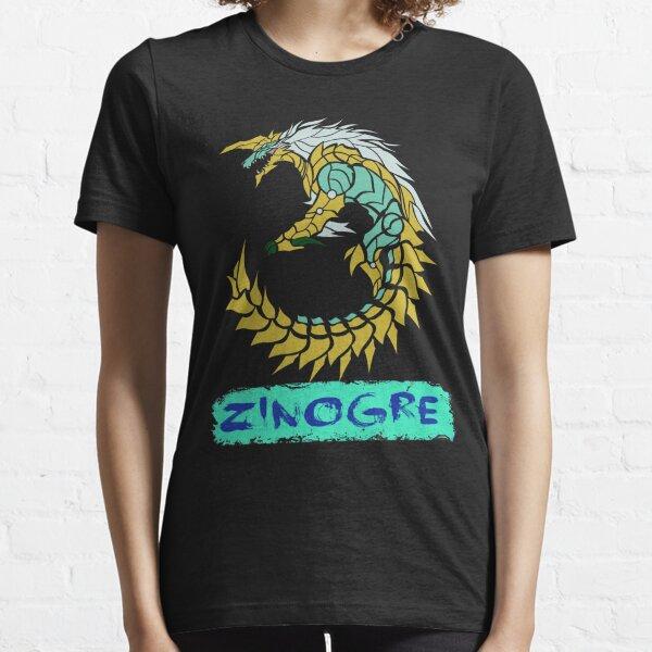 The Circular Thunder Wolf Wyvern Essential T-Shirt