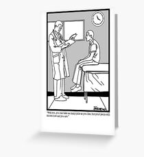 Dr. Office Greeting Card