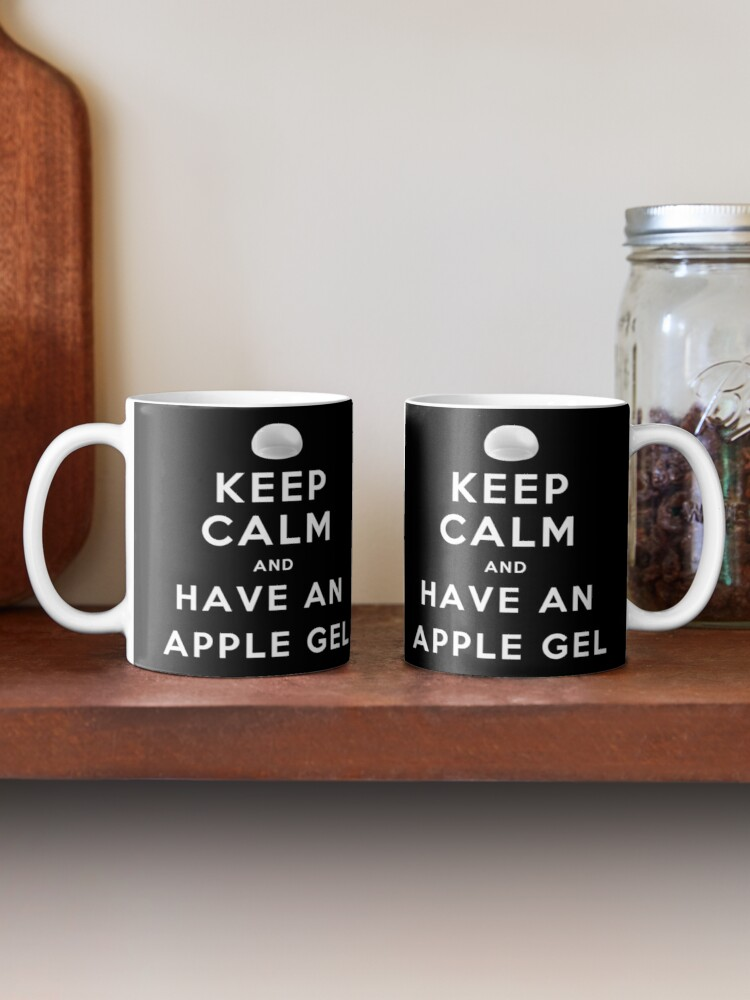 Alternate view of Keep Calm and Have an Apple Gel Mug