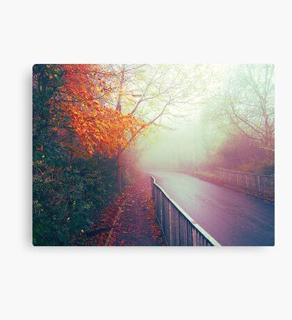 Misty Days Canvas Print