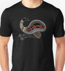 Authentic Aboriginal Art - The Emu Unisex T-Shirt