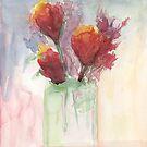 Poppies by Jeno Futo