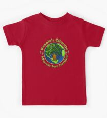 People's Climate Change March on Washington Justice 2017 Kids Tee