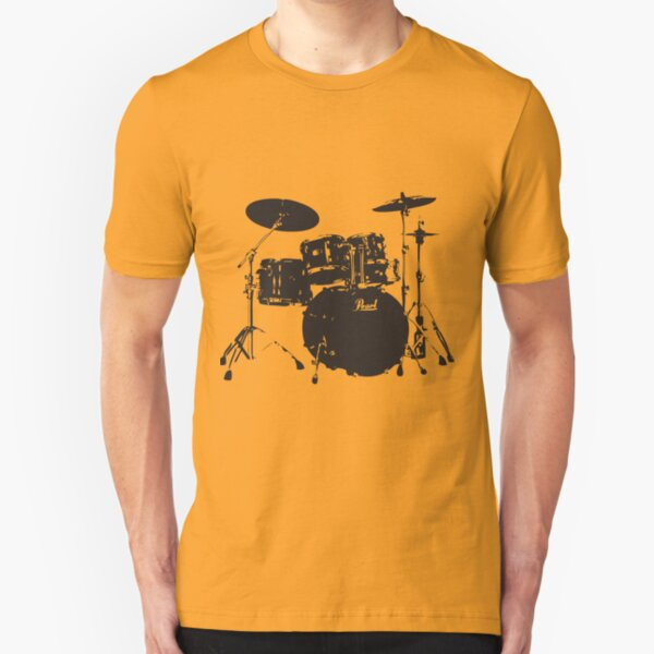 Drums Slim Fit T-Shirt