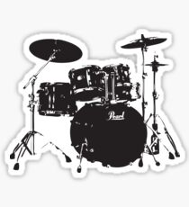 Drum Stickers | Redbubble