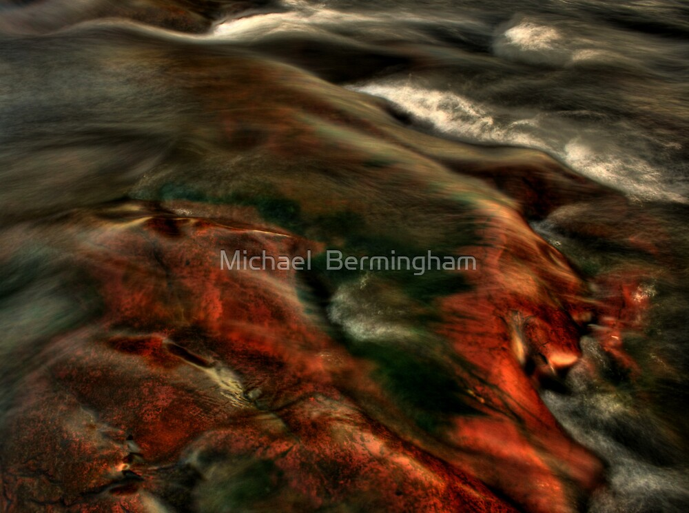 A river...somewhere by Michael  Bermingham