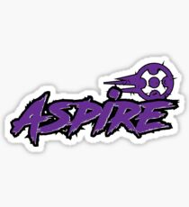 Launceston Aspire Paintball Team (Light) Sticker
