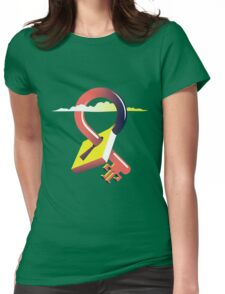 Temples - Volcano Logo Womens Fitted T-Shirt