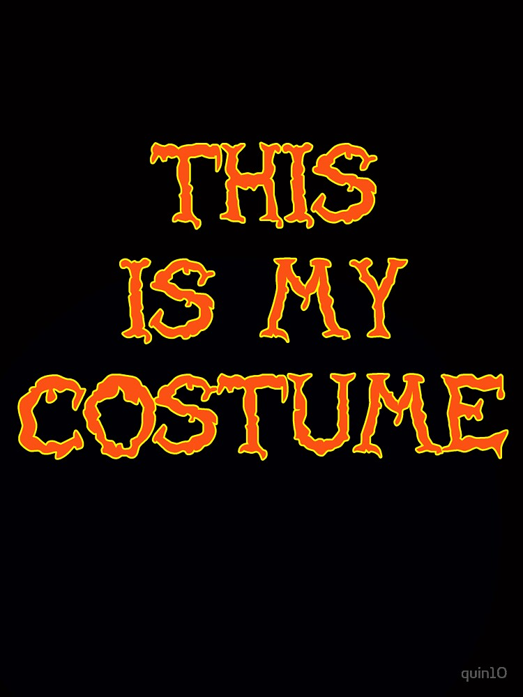 This is my costume by quin10