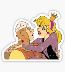 Dragon's Lair: Dirk and Princess Daphne Sticker