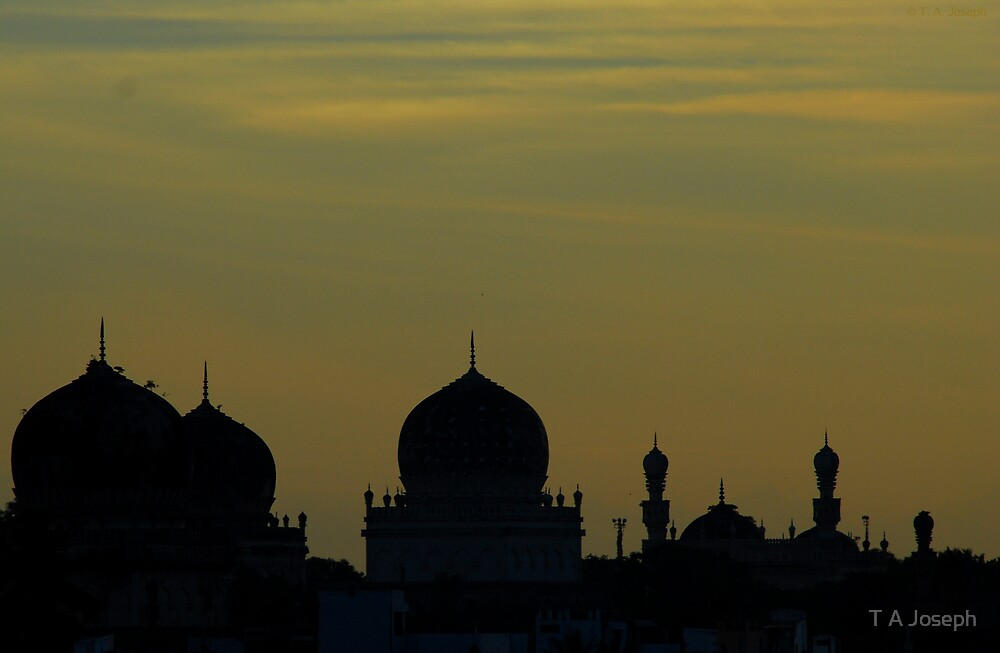 Qutb Shahi Tombs by T A Joseph