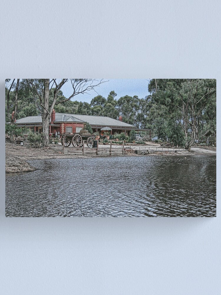 Alternate view of The Homestead Canvas Print