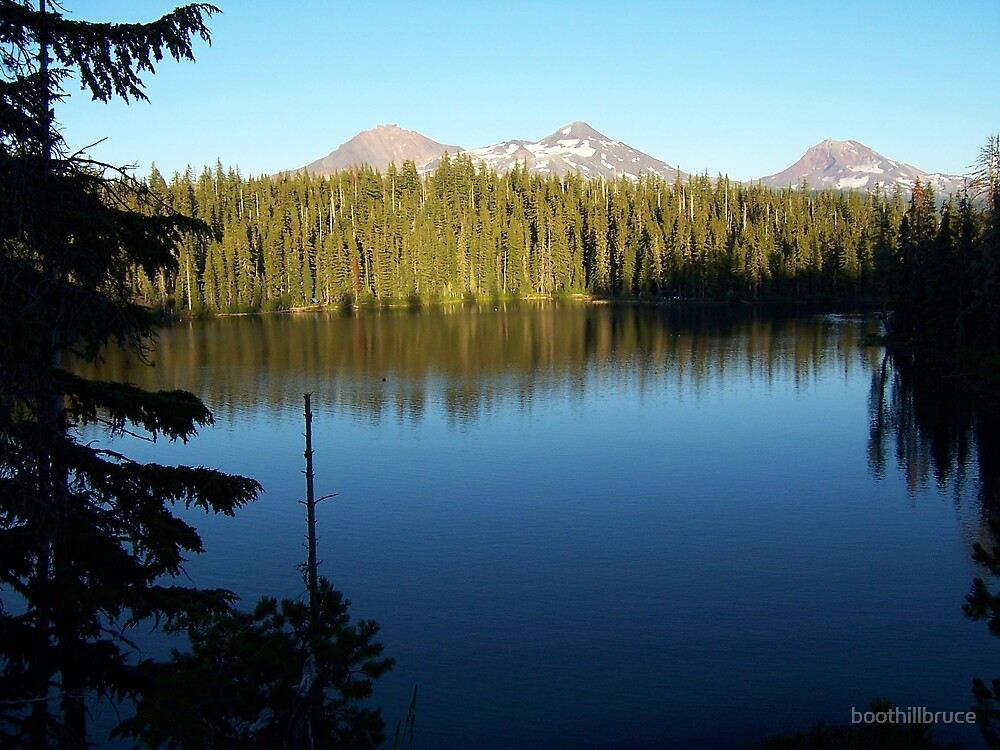 Melakwa Lake / Three Sisters by boothillbruce