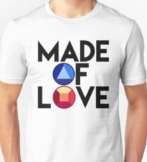 Steven Universe, Made of Love, Stronger Than You, Ruby and Sapphire Gems Unisex T-Shirt