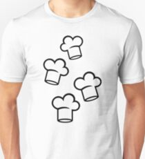 Chefs hats Unisex T-Shirt