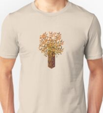 Isometric Tree in Autumn T-Shirt