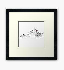 Marble Virginia Framed Print