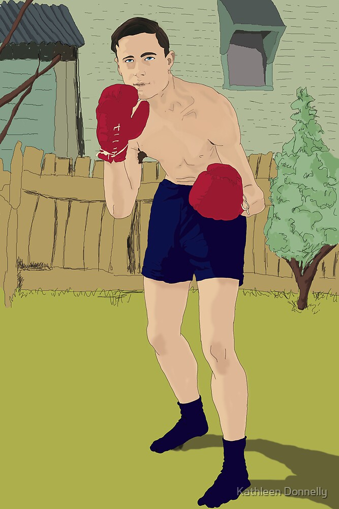 Thistle Street Boxer by Kathleen Donnelly