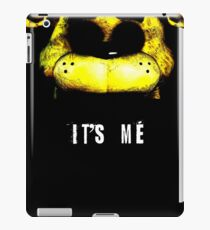 Golden freddy five nights at freddy's iPad Case/Skin