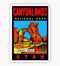 Canyonlands National Park Utah Vintage Travel Decal Sticker