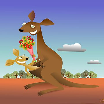 Mothers Day for Kangaroos by leighcanny